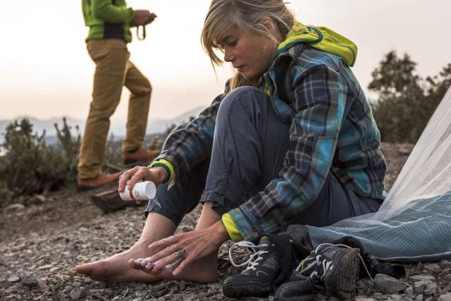 blaren voorkomen met care plus voetpoeder