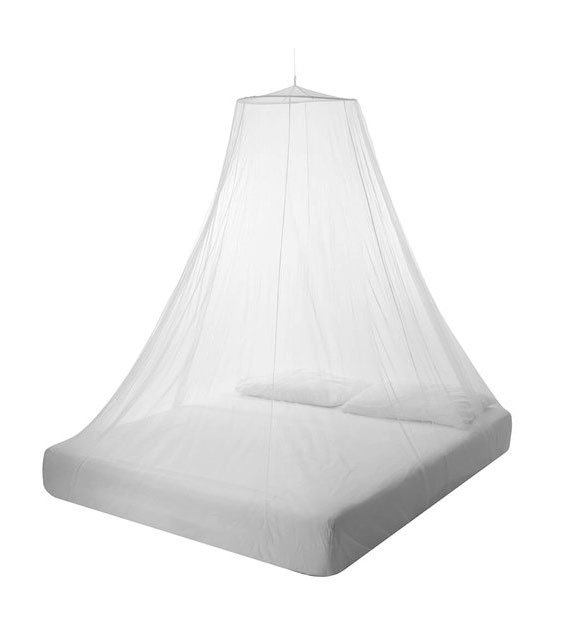 With the Bell mosquito net for 2 people you will have a good and safe night's sleep