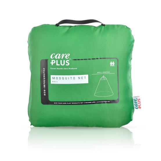 niet geïmpregneerde klamboe Bell van Care Plus. Muggennet voor thuis en op reis