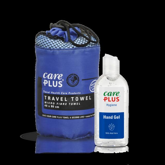 hygiene onderweg met Care Plus