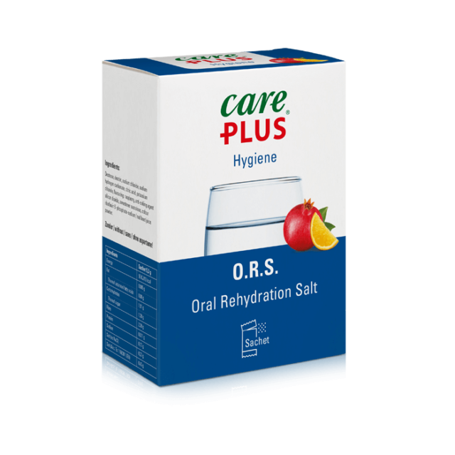 hydration with Care Plus O.R.S
