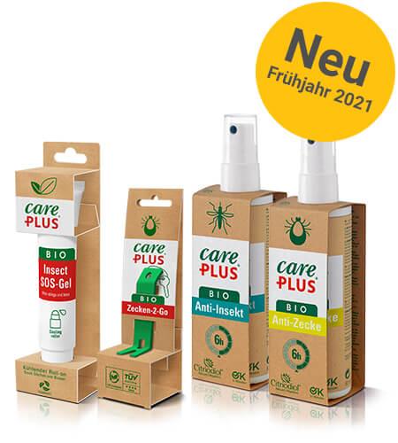 Care Plus bio Schutz gegen Mücken und Zecken