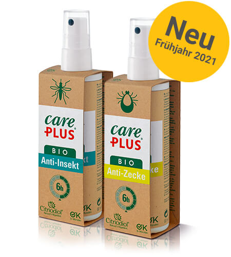 Care Plus bio Produkten anti Insekt Schutz