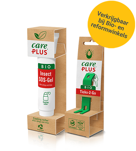 Care Plus biologische producten voor behandeling na de insectenbeek