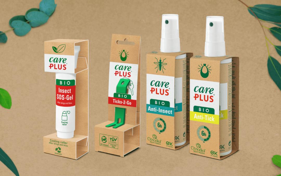 De nieuwe anti-insect lijn van Care Plus