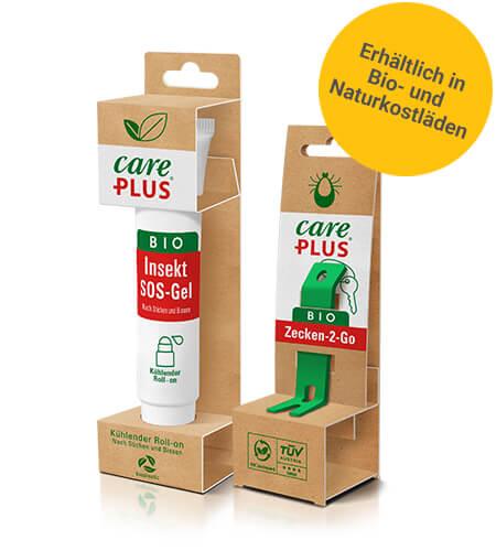 Care Plus Bio Produkte behandeln Insektenstiche